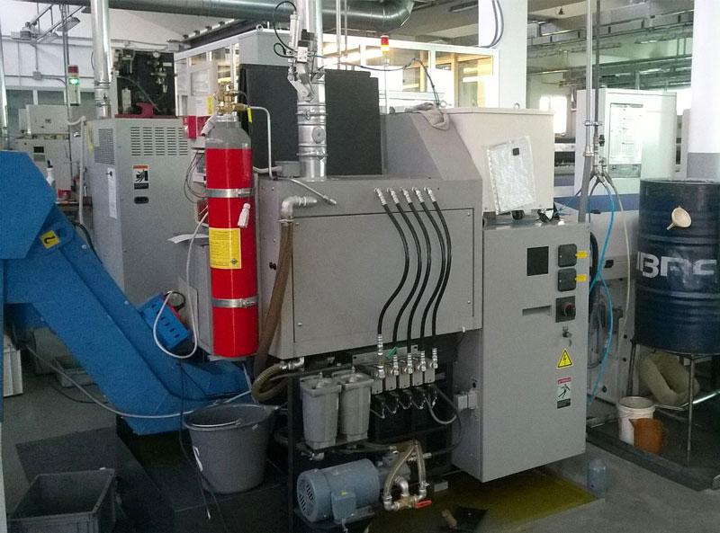 Sistema antincendio SENTINELLA® per macchine utensili