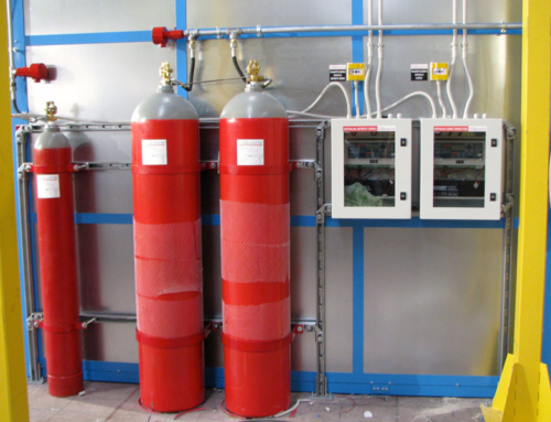 SENTINELLA® fire extinguishing system for painting booths